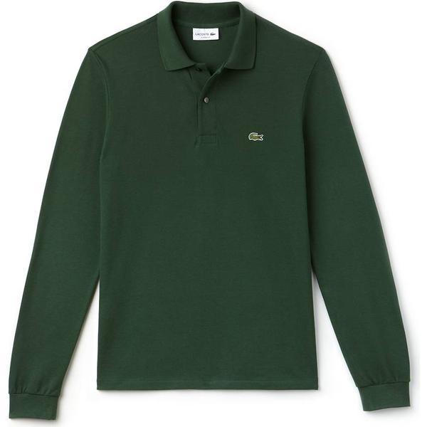 Lacoste L.12.12 Long Sleeve Polo Shirt - Green
