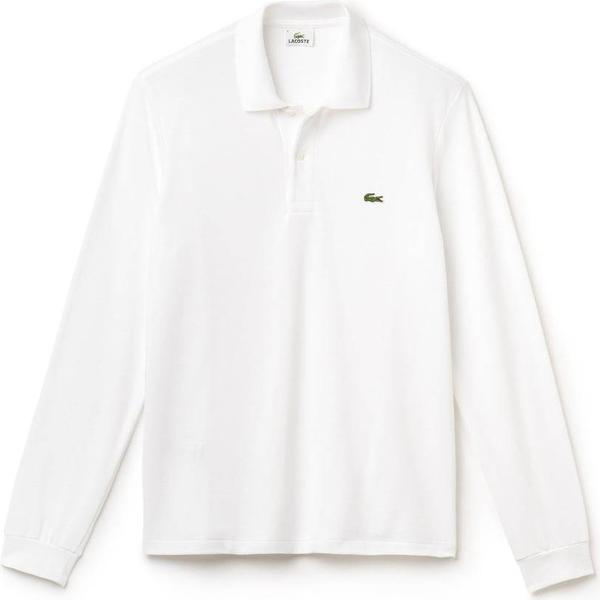 Lacoste L.12.12 Long Sleeve Polo Shirt - White