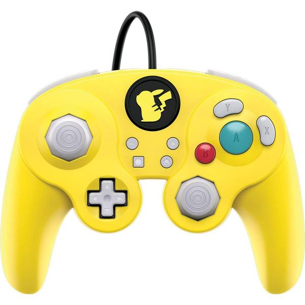 PDP Nintendo Switch Wired Fight Pad Pro Controller - Pikachu