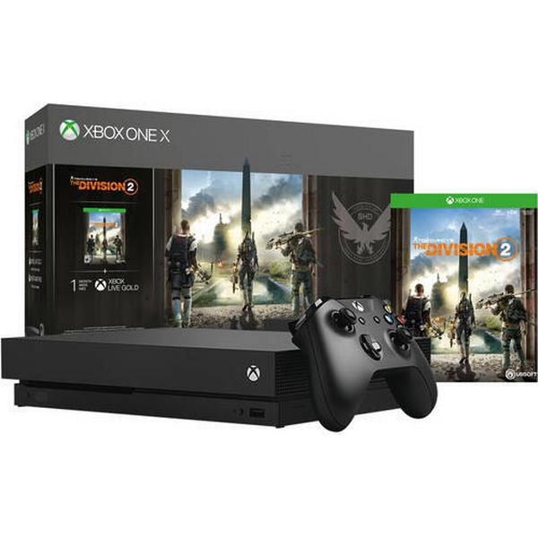 Microsoft Xbox One X 1TB - Tom Clancy's The Division 2
