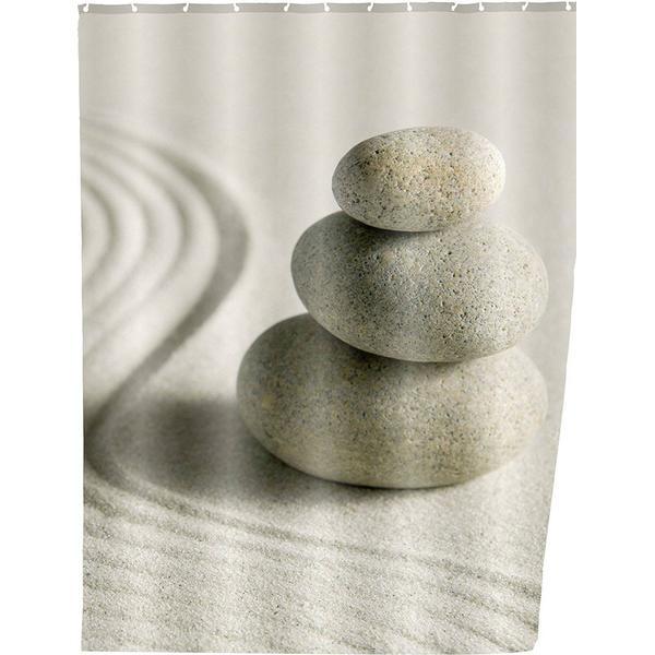 Wenko Badeforhæng Sand & Stone