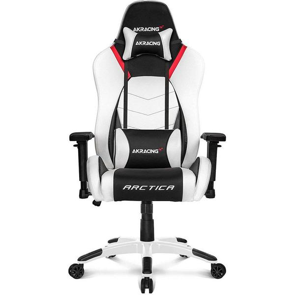 Akracing Arctica Gaming Chair Black White Red