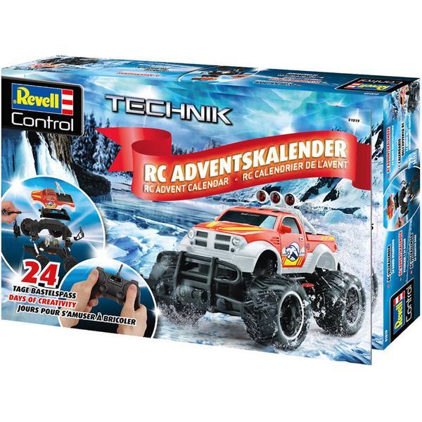 Revell Weihnachtskalender.Revell Adventskalender Rc Truck 2018