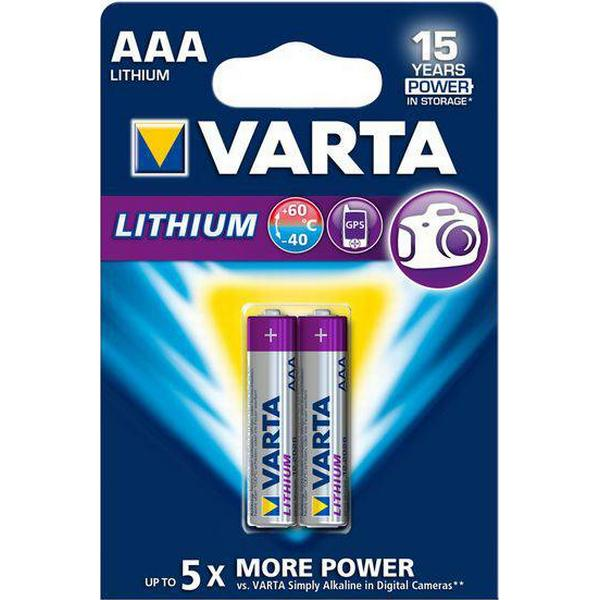 Varta Lithium AAA 2-pack