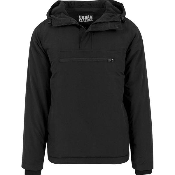 Urban Classics Padded Pull Over Jacket - Black