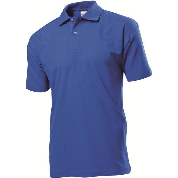 Stedman Short Sleeve Polo Shirt - Bright Royal