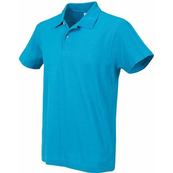 Stedman Short Sleeve Polo Shirt - Ocean Blue