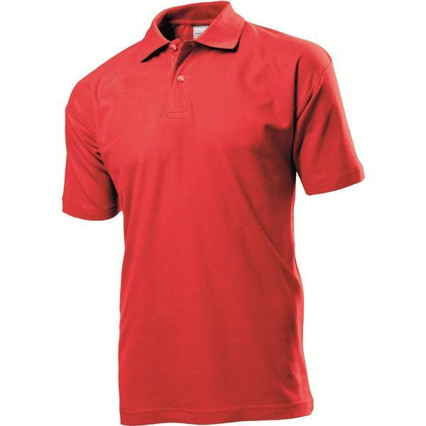 Stedman Short Sleeve Polo Shirt - Scarlet Red