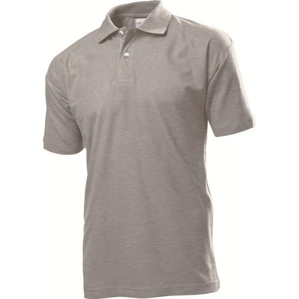 Stedman Short Sleeve Polo Shirt - Grey Heather