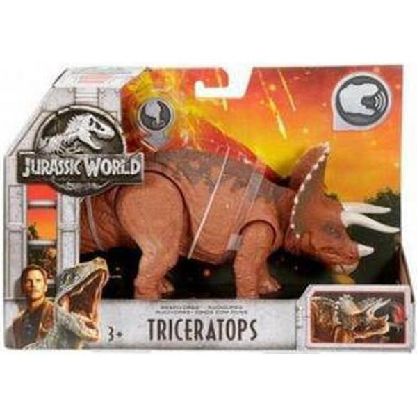 Roarivores Triceratops Action Figures Jurassic World Toys & Hobbies