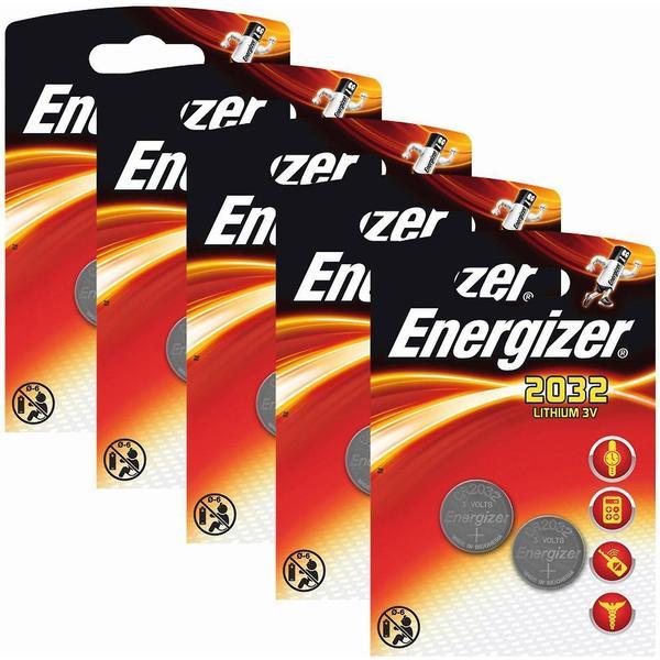 Energizer CR2032 Compatible 10-pack