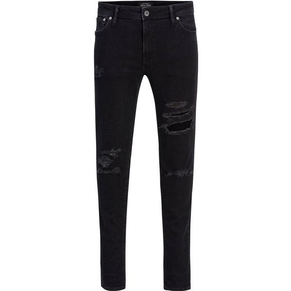 Jack & Jones Liam Original AM 502 Skinny Fit Jeans - Black/Black Denim