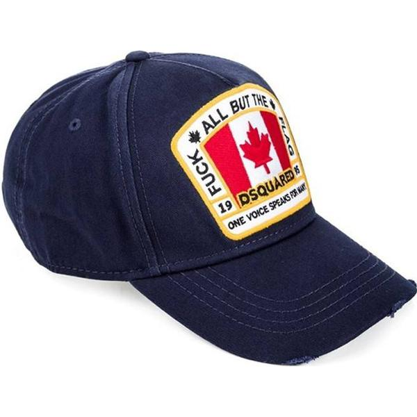 DSquared2 Canada Patch Baseball Cap - Dark blue