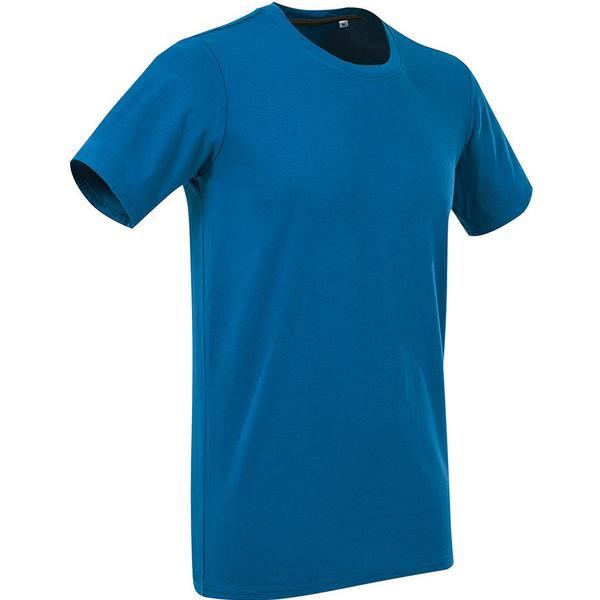 Stedman Clive Crew Neck T-shirts - King Blue