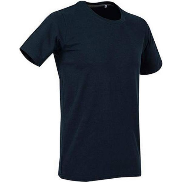 Stedman Clive Crew Neck T-shirts - Marina Blue