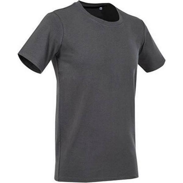 Stedman Clive Crew Neck T-shirts - Slate Grey