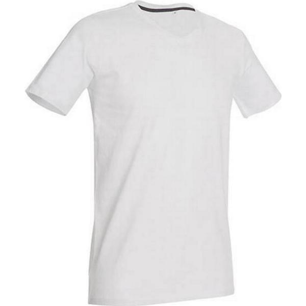 Stedman Clive V Neck T-shirts - White