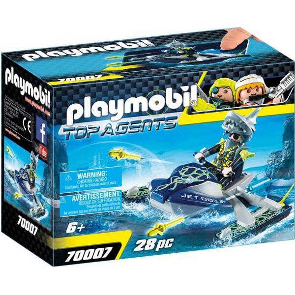 Playmobil Team S.H.A.R.K. Rocket Rafter 70007