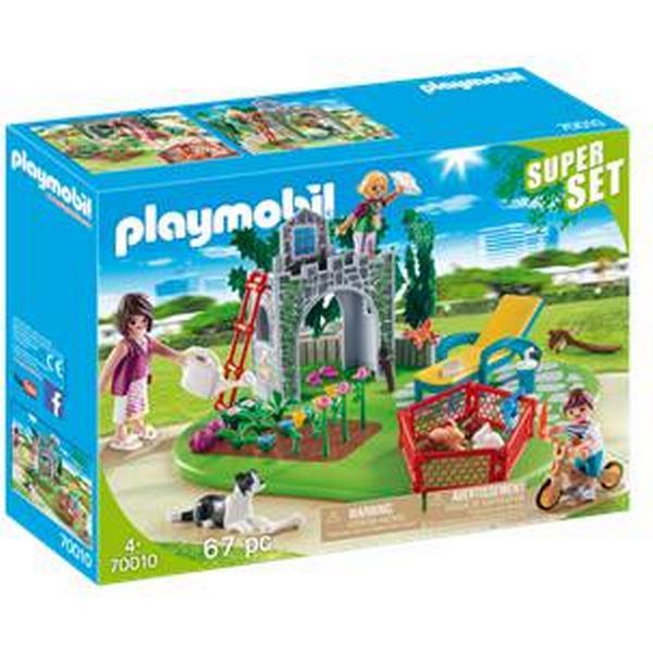 Playmobil Supersæt Familie Have 70010
