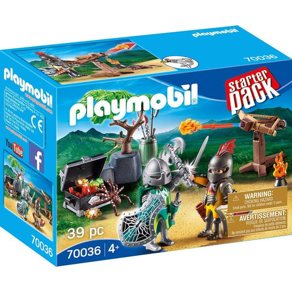 Playmobil StarterPack Knight's Treasure Battle 70036