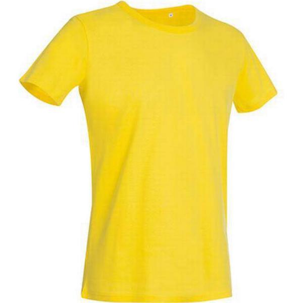 Stedman Ben Crew Neck T-shirts - Daisy Yellow