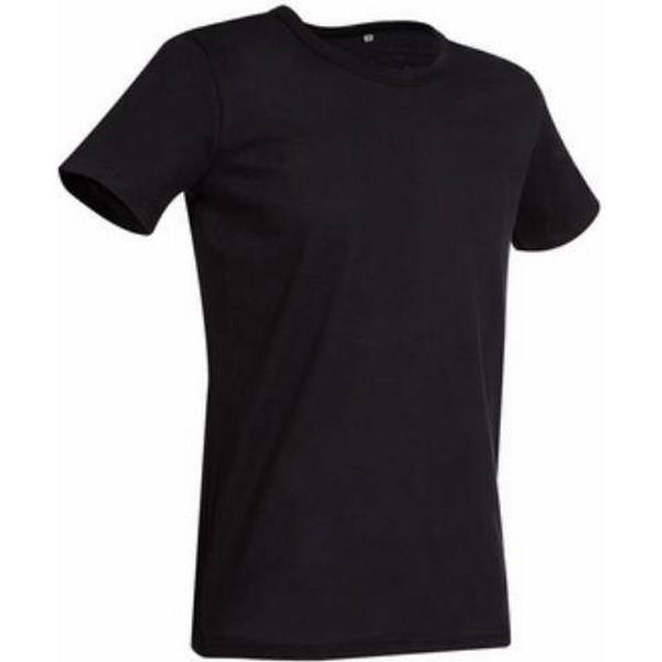 Stedman Ben Crew Neck T-shirts - Black Opal