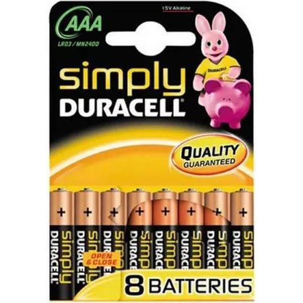 Duracell AAA Simply Compatible 8-pack