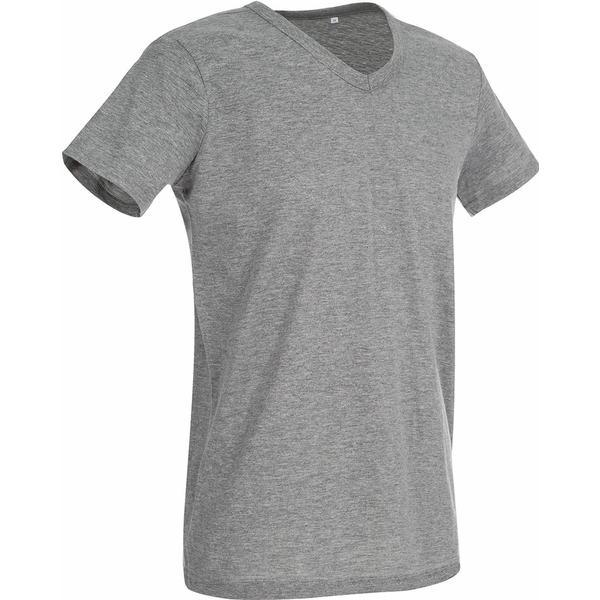 Stedman Ben V Neck T-shirt - Grey Heather