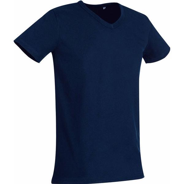 Stedman Ben V-neck T-shirt - Marina Blue