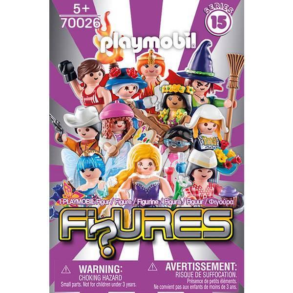 Playmobil Figures Girls Serie 15 70026