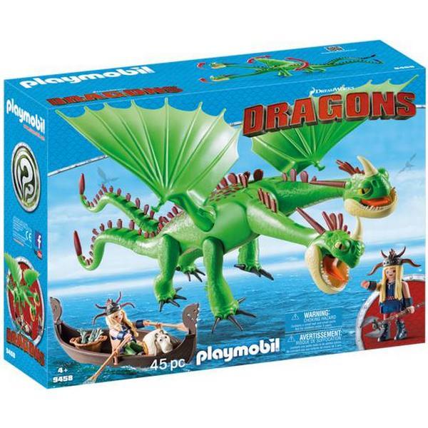 Playmobil Ruffnut & Tuffnut with Barf & Belch 9458