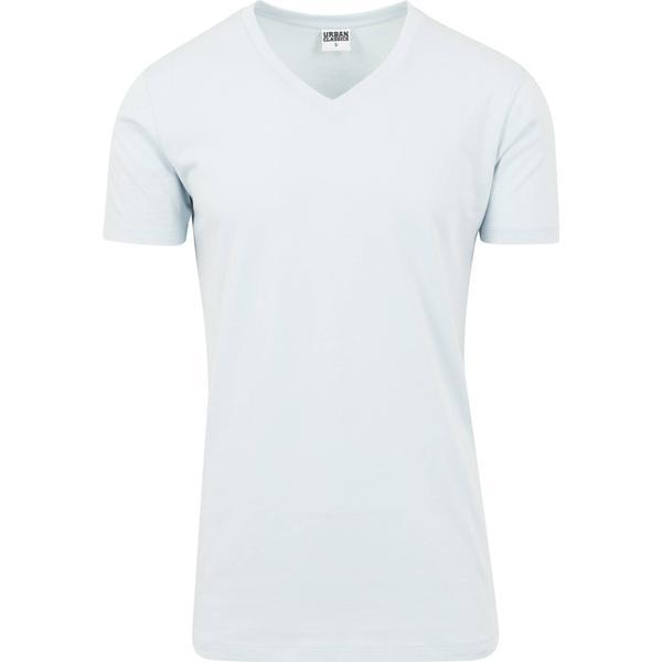 Urban Classics Basic V-Neck Tee T-shirt - BabyBlue