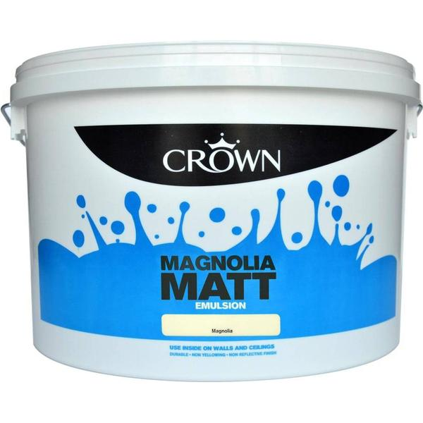 Crown Matt Emulsion Wall Paint, Ceiling Paint Beige 7.5L