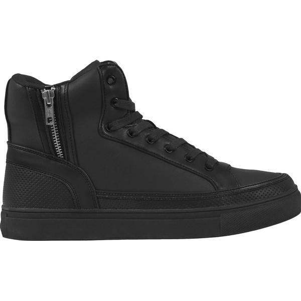 Urban Classics Zipper High Top - Black