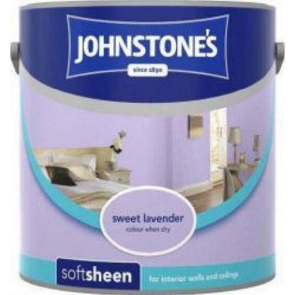Johnstones Soft Sheen Wall Paint, Ceiling Paint Purple 2.5L
