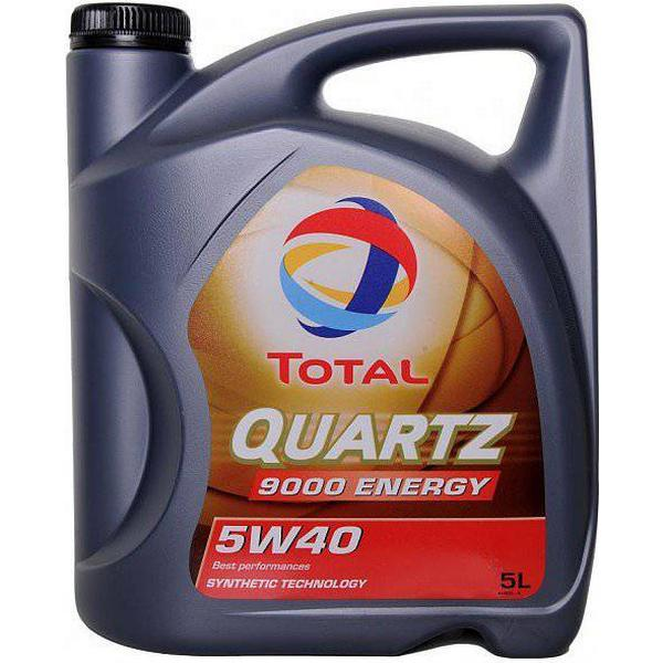 Total Quartz 9000 Energy 5W-40 5L Motor Oil