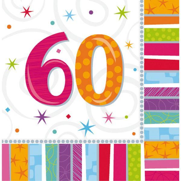 Amscan Radiant Birthday 60 (991417)