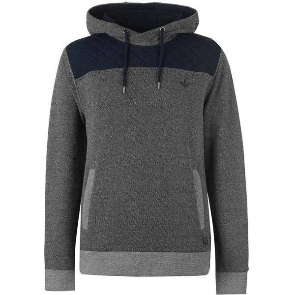Firetrap Marly OTH Hoodie - Charcoal/Navy
