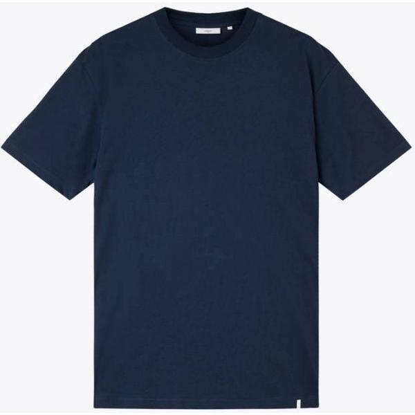 Minimum Aarhus Short Sleeved T-Shirt - Navy Blazer