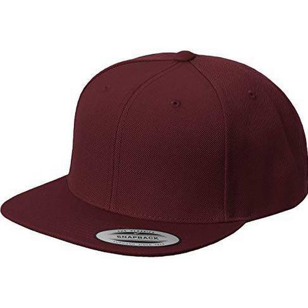 Flexfit Classics Premium Snapback Cap - Maroon
