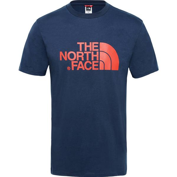 The North Face Easy T-shirt - Urban Navy/Fiery Red