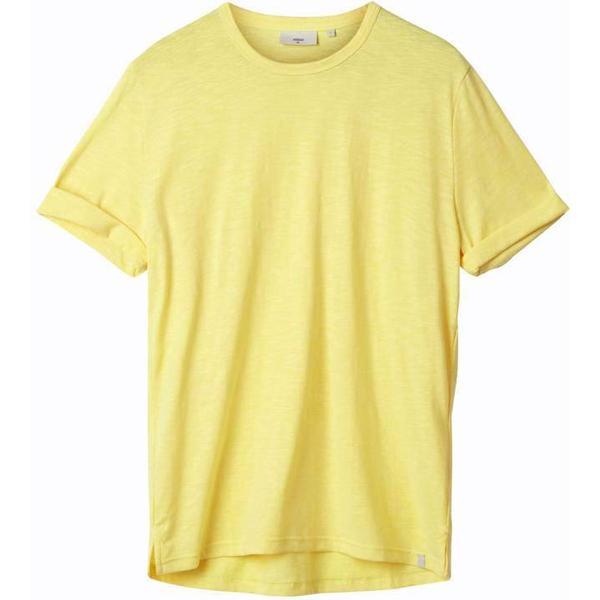 Minimum Delta Short Sleeved T-shirt - Lemon Drop Mel