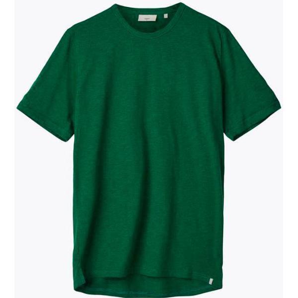 Minimum Delta Short Sleeved T-shirt - Verdant Green Mel
