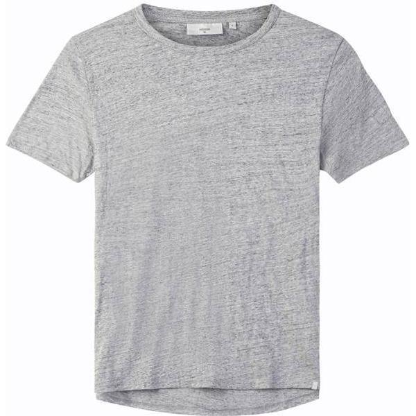 Minimum Delta Short Sleeved T-shirt - Light Grey Melange