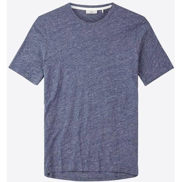 Minimum Delta Short Sleeved T-shirt - Midnight Navy Mel