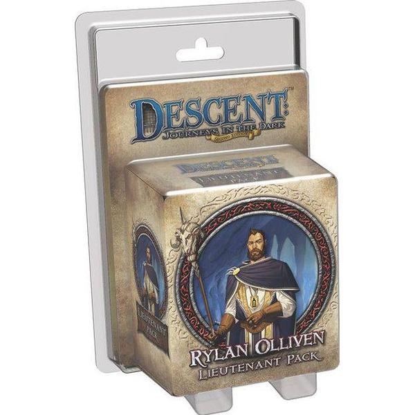 Fantasy Flight Games Descent: Journeys in the Dark Rylan Olliven Lieutenant Pack