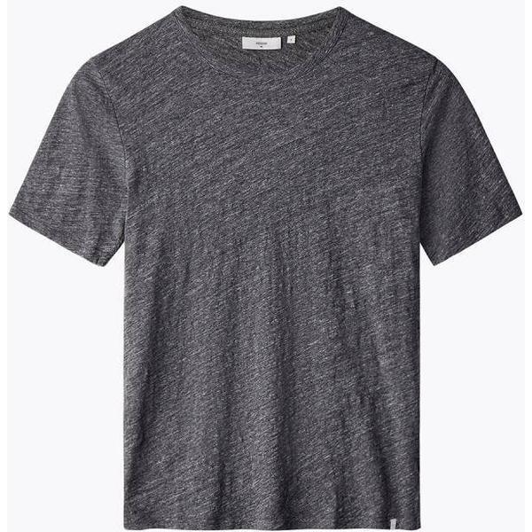 Minimum Delta Short Sleeved T-shirt - Dark Grey Mel