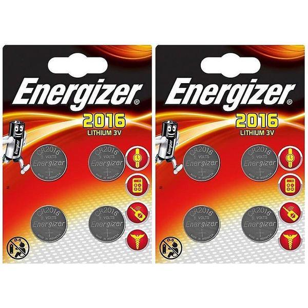Energizer CR2016 Compatible 8-pack