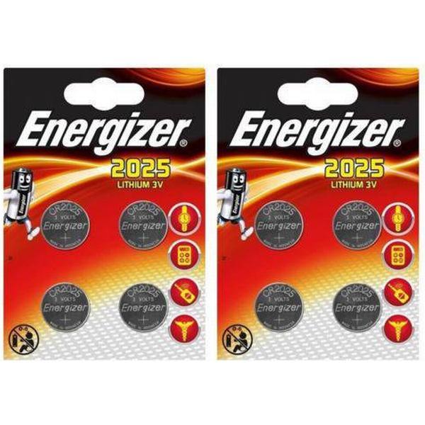 Energizer CR2025 Compatible 8-pack