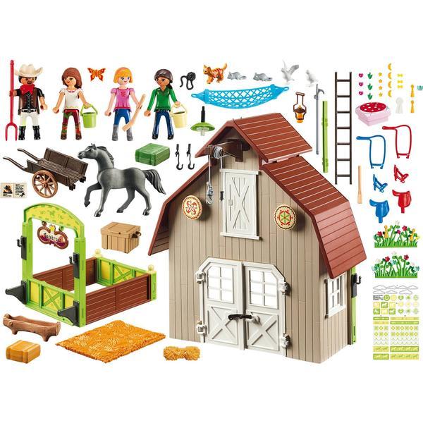 Playmobil Barn with Lucky Pru & Abigail 70118